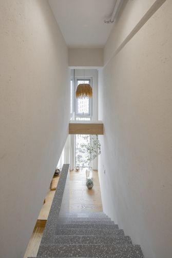 80平米复式日式风格楼梯间装修案例