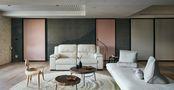 富裕型130平米三室一厅北欧风格客厅设计图