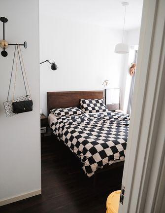 经济型80平米现代简约风格卧室设计图