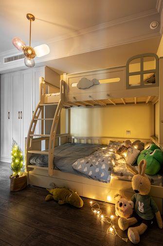 豪华型110平米三室两厅北欧风格青少年房图片大全