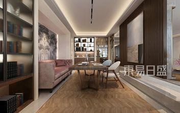 20万以上140平米四现代简约风格书房装修效果图