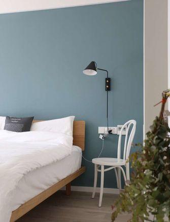 富裕型80平米三北欧风格卧室欣赏图