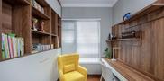 110平米三欧式风格书房图片