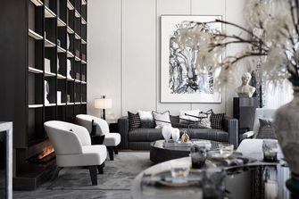 5-10万60平米中式风格客厅设计图