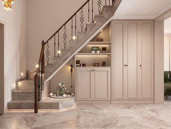 140平米复式美式风格楼梯间装修案例