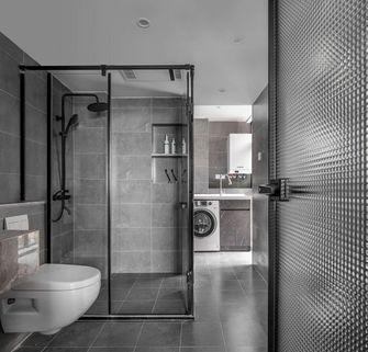 5-10万90平米三室两厅现代简约风格卫生间装修案例