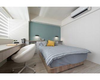 经济型50平米一居室现代简约风格卧室欣赏图