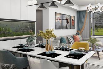 110平米四室一厅北欧风格餐厅图片大全