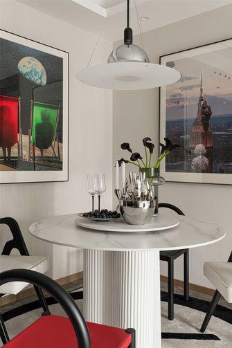 富裕型110平米三室两厅混搭风格餐厅图片