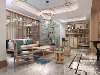 20万以上140平米别墅英伦风格书房欣赏图