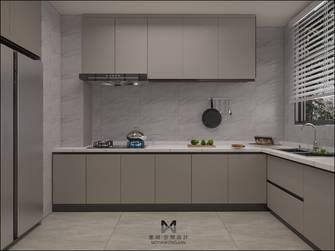 富裕型140平米三室两厅现代简约风格厨房效果图