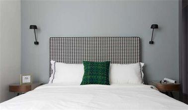 10-15万80平米三室两厅现代简约风格卧室装修图片大全