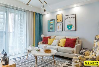 富裕型110平米三室两厅北欧风格客厅装修案例