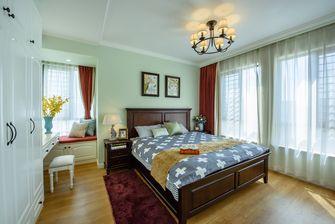 5-10万100平米田园风格卧室图片大全