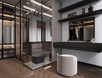 富裕型140平米三室两厅现代简约风格衣帽间图片大全