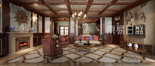 140平米四新古典风格客厅装修案例