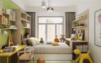 富裕型100平米三室两厅北欧风格青少年房效果图