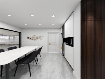 经济型100平米三室两厅轻奢风格餐厅装修案例