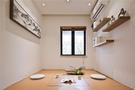 80平米日式风格书房设计图