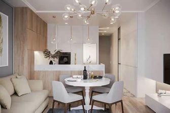 豪华型140平米四室两厅北欧风格餐厅设计图