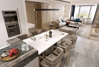 豪华型140平米复式轻奢风格餐厅图片大全