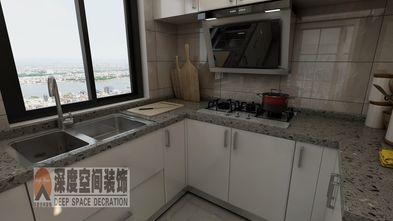 5-10万110平米四室两厅现代简约风格厨房效果图