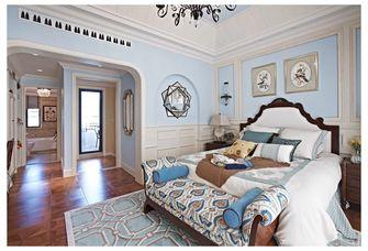 富裕型110平米复式田园风格卧室图片
