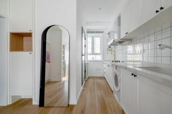3万以下30平米以下超小户型北欧风格厨房设计图