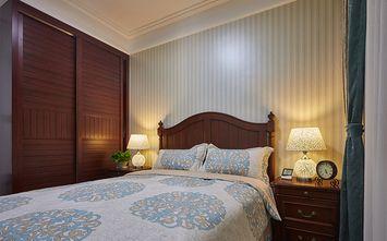 豪华型130平米三室两厅美式风格卧室图