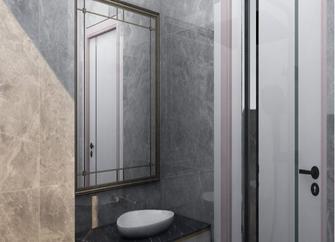 10-15万140平米三室一厅现代简约风格卫生间图片