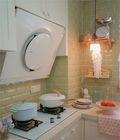 80平米三室两厅法式风格厨房装修图片大全