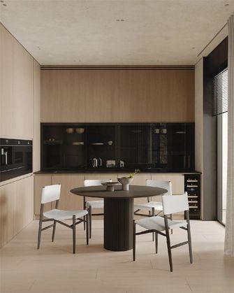 富裕型140平米三室两厅混搭风格餐厅效果图