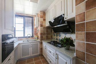 10-15万90平米三室两厅美式风格厨房装修效果图