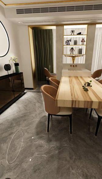 豪华型140平米四室一厅混搭风格餐厅装修图片大全