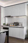 5-10万70平米公寓混搭风格厨房设计图