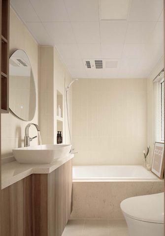 富裕型100平米三日式风格卫生间设计图