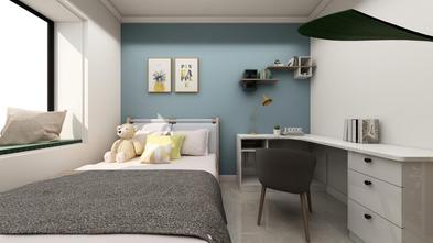 富裕型90平米三室一厅现代简约风格卧室欣赏图