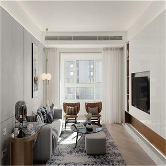 10-15万100平米三北欧风格客厅欣赏图