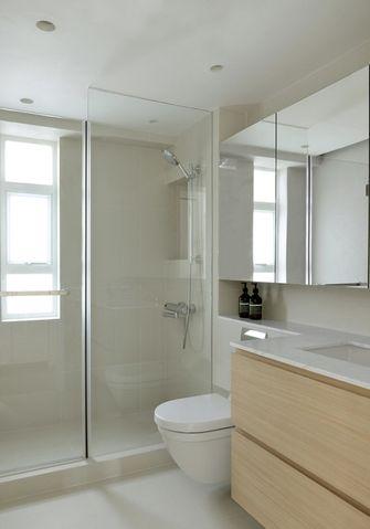 90平米三日式风格卫生间设计图