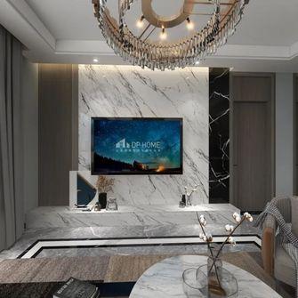 15-20万80平米现代简约风格客厅装修案例