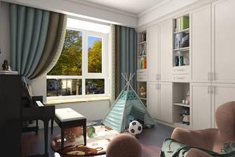 富裕型140平米别墅美式风格影音室设计图