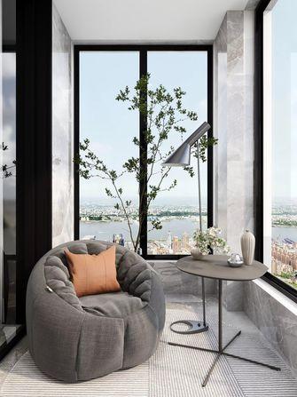 10-15万90平米轻奢风格阳台设计图