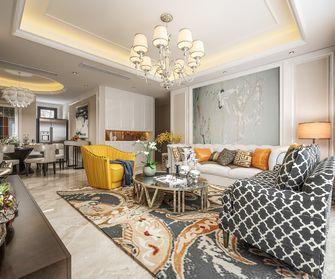 豪华型140平米三室一厅混搭风格客厅欣赏图