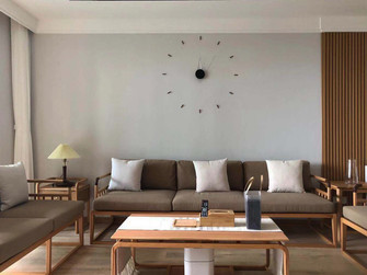 豪华型140平米四室两厅日式风格客厅欣赏图
