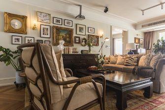 豪华型140平米三室两厅欧式风格客厅图片