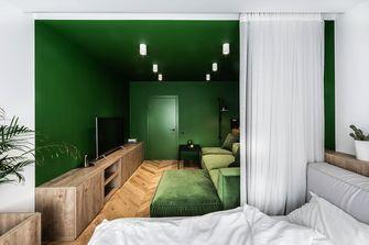5-10万50平米一室一厅混搭风格客厅图