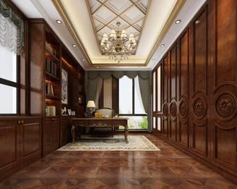 140平米别墅欧式风格书房图片大全