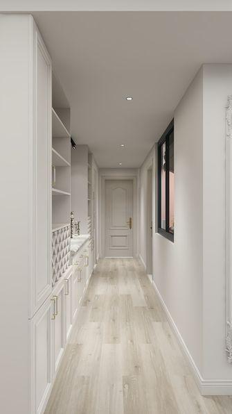 富裕型120平米三室两厅法式风格走廊装修图片大全