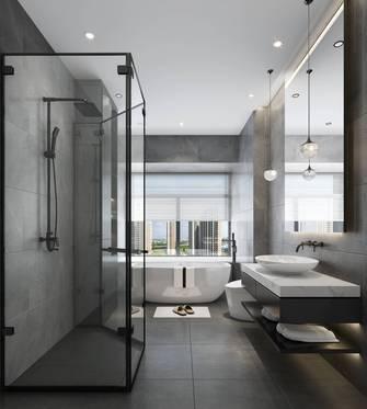 豪华型140平米三室两厅现代简约风格卫生间装修效果图