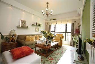 5-10万120平米三室两厅田园风格客厅欣赏图